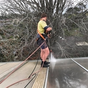 established gutter vacuuming maintenance - 2